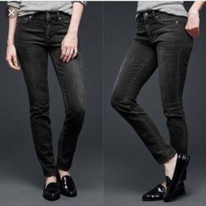 Gap l Resolution Black Slim Straight Jeans